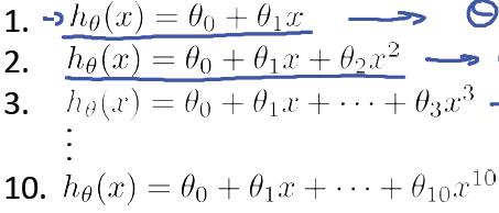 模型选择多项式回归问题-我爱公开课-52opencourse.com