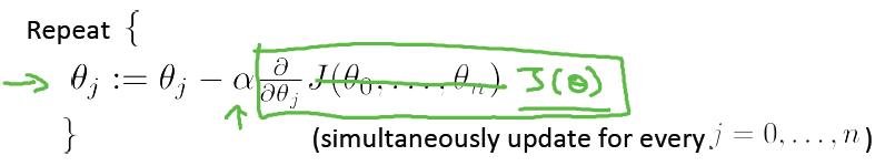 多变量线性回归梯度下降算法-我爱公开课-52opencourse.com