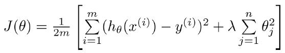 正则化的线性回归模型—我爱公开课-52opencourse.com
