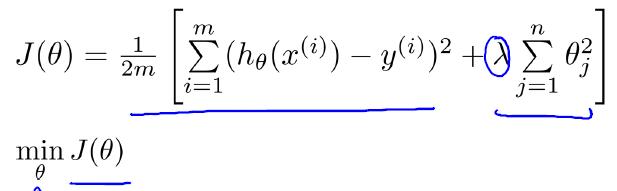 线性回归正则化Cost function-我爱公开课-52opencourse.com