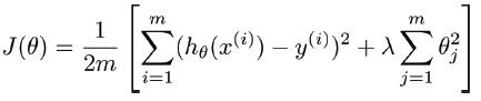 正则化线性回归模型-我爱公开课-52opencourse.com
