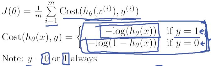 逻辑回归代价函数-我爱公开课-52opencourse.com